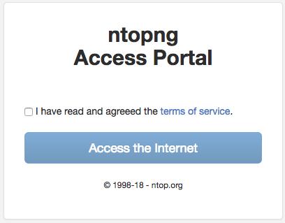Captive Portal — nEdge documentation