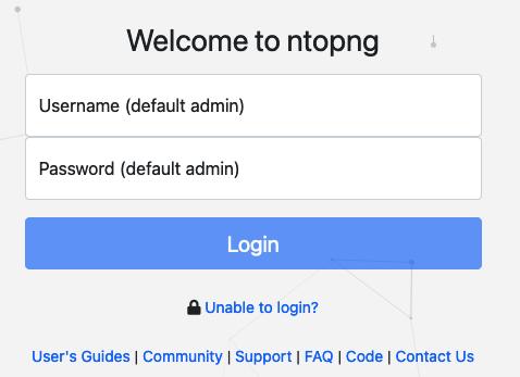 The ntopng Web GUI — ntopng 3 9 documentation